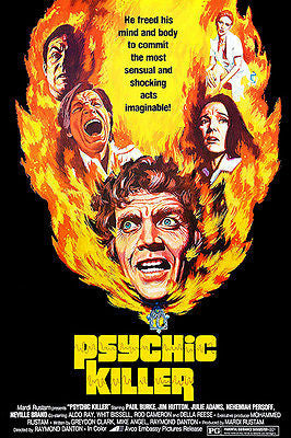 Psychic Killer - 1975 - Movie Poster
