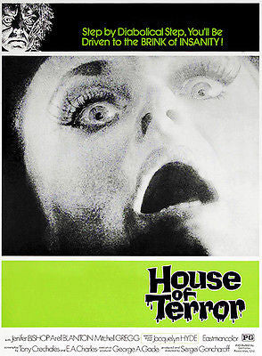 House of Terror - 1973 - Movie Poster
