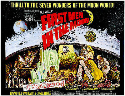 First Men In The Moon - 1964 - Movie Poster