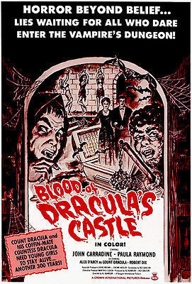 Blood of Dracula's Castle - 1969 - Movie Poster