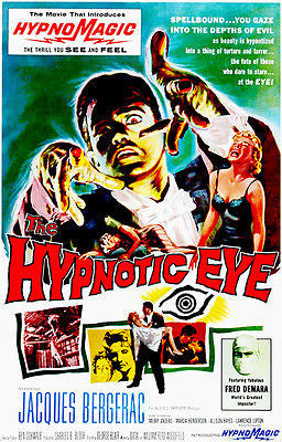 The Hypnotic Eye - 1960 - Movie Poster