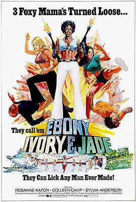 Ebony Ivory & Jade - 1976 - Movie Poster