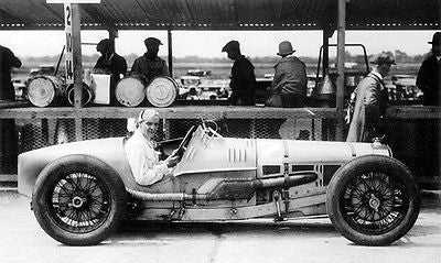 1926 Delage 155B 1500 - Winner at First British Grand Prix - Photo Poster