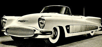 1951 Buick XP-300 Concept Car - Promotional Advertising Poster