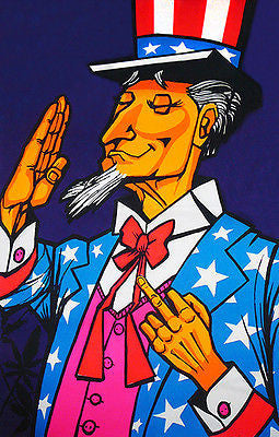 Sam's Finger - Uncle Sam - 1971 - Pop Art Poster