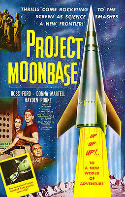 Project Moonbase - 1953 - Movie Poster