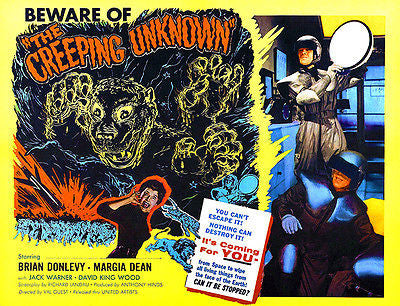 The Creeping Unknown - 1955 - Movie Poster