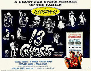 13 Ghosts - 1960 - Movie Poster Magnet
