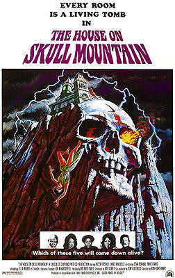 The House on Skull Mountain - 1974 - Movie Poster
