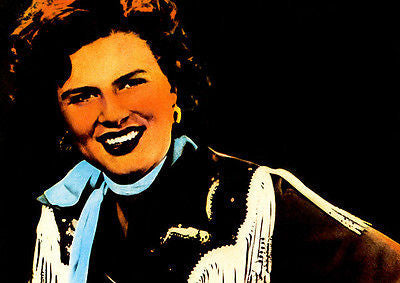 Patsy Cline - Early 1960's - Artist Promotional Poster