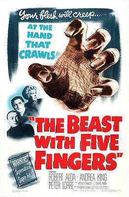 The Beast With 5 Fingers - 1946 - Movie Poster