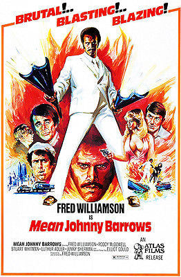 Mean Johnny Barrows - 1976 - Movie Poster
