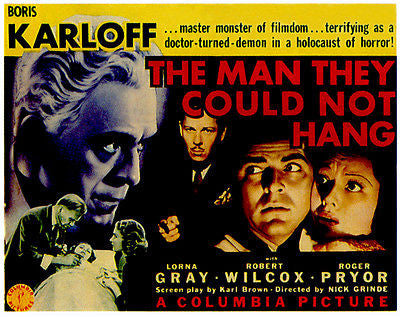 The Man They Could Not Hang - 1939 - Movie Poster