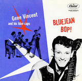 Gene Vincent - Bluejean Bop! - 1956 - Album Cover Poster