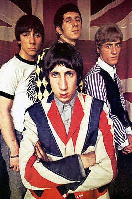 The Who - Early 1970's - Artist Promotional Poster
