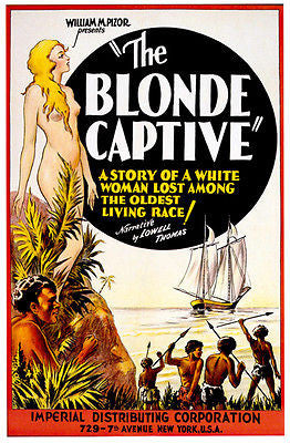 The Blonde Captive - 1931 - Movie Poster