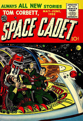 Tom Corbett, Space Cadet #1 - Comic Book Cover Poster