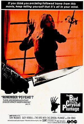 The Bird With The Crystal Plumage - 1970 - Movie Poster