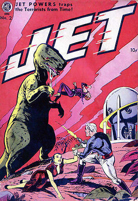Jet Powers #2 - 1951 - Comic Book Cover Poster