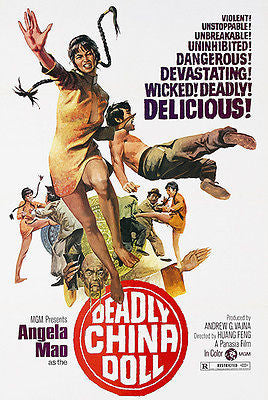 Deadly China Doll - 1973 - Movie Poster