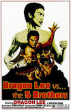 Dragon Lee vs The 5 Brothers - 1986 - Movie Poster