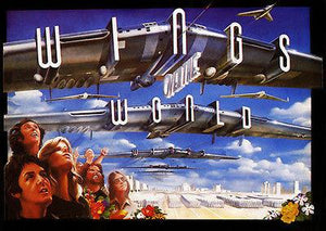 Wings Over The World - 1979 - Concert Movie Poster Magnet