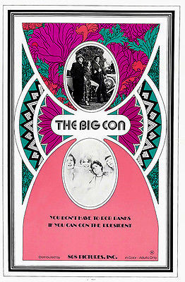 The Big Con - 1975 - Movie Poster