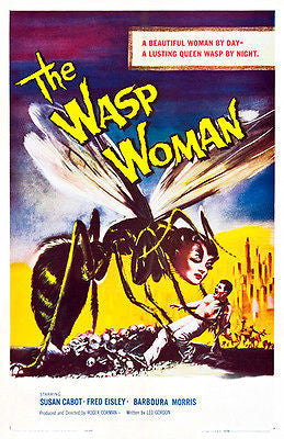 The Wasp Woman - 1959 - Movie Poster