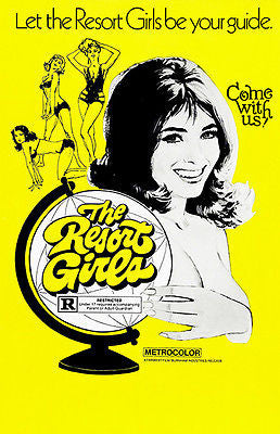 The Resort Girls - 1971 - Movie Poster
