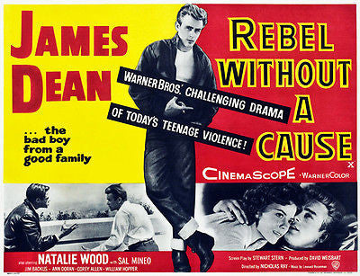 Rebel Without A Cause - 1955 - Movie Poster