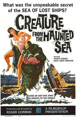 Creature From The Haunted Sea - 1961 - Movie Poster