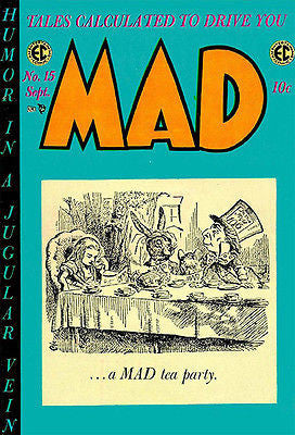 MAD Magazine #15 - September 1954 - Cover Poster