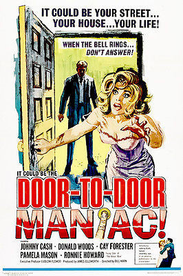 Door To Door Maniac - 1961 - Movie Poster