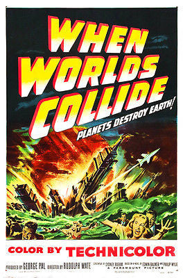 When Worlds Collide - 1951 - Movie Poster
