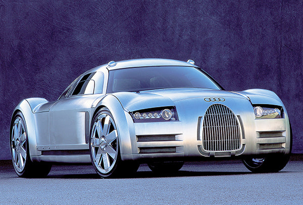 2000 Audi Rosemeyer Concept Car - Promotional Photo Poster