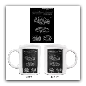 2014 - Aston Martin Automobile - M. Nurnberger - Patent Art Mug