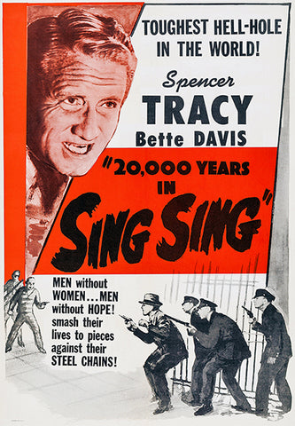 20,000 Years In Sing Sing - 1932 - Movie Poster