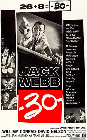 -30- - 1959 - Movie Poster Magnet