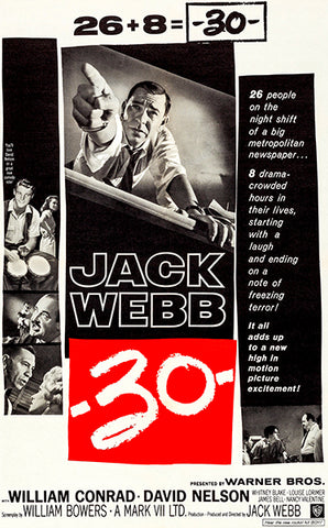 -30- - 1959 - Movie Poster