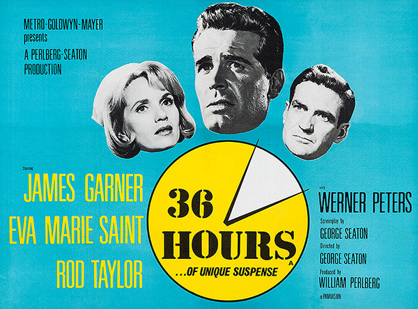 36 Hours - 1964 - Movie Poster