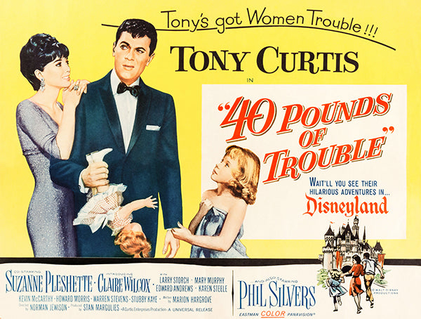 40 Pounds Of Trouble - 1962 - Movie Poster