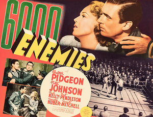 6,000 Enemies - 1939 - Movies Poster