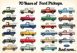 70 Years Of Ford Pickups - 1917-1986 - Promotional Advertising Mug