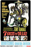 7 Faces Of Dr. Lao - 1964 - Movie Poster