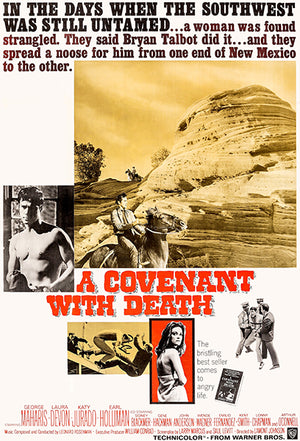 A Covenant With Death - 1967 - Movie Poster