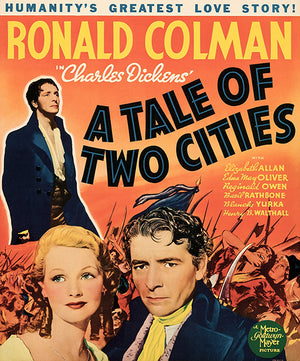 A Tale Of Two Cities - 1935 - Movie Poster Magnet