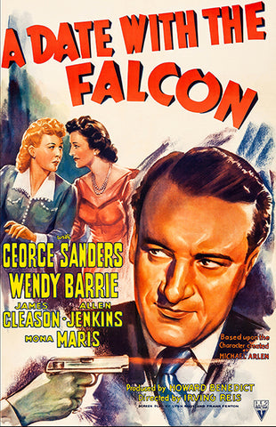 A Date With The Falcon - 1941 - Movie Poster