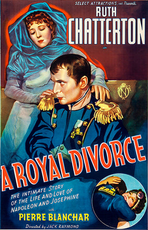 A Royal Divorce - 1938 - Movie Poster