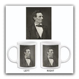 Abraham Lincoln - Facing Right - 1860 - Portrait Mug