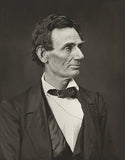 Abraham Lincoln - Facing Right - 1860 - Portrait Poster